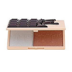 I Heart Revolution Mini Chocolate Highlighter Palette - Fondue multifunkční paleta pro sjednocenou a rozjasněnou pleť 11 g obraz