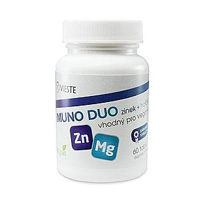 Vieste Imuno Duo zinek + hořčík 60 tablet obraz