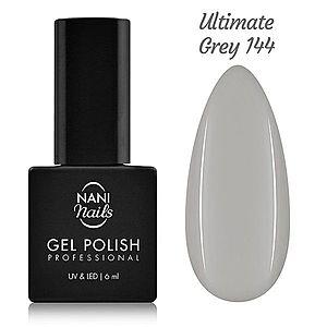 NANI gel lak 6 ml - Ultimate Gray obraz