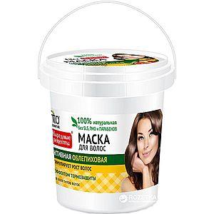 Aktivní vlasová maska s rakytníkem - Fitokosmetik - 155ml obraz