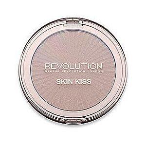 Makeup Revolution Skin Kiss Highlighter Golden Kiss rozjasňovač 15 g obraz