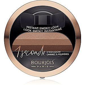 Bourjois 1 Seconde oční stíny pro okamžité kouřové líčení odstín 06 Abracada'brown 3 g obraz