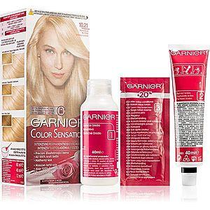 Garnier Color Sensation barva na vlasy odstín 10.21 Perlová Blond obraz