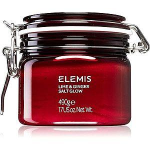 Elemis Body Exotics Lime and Ginger Salt Glow povzbuzující tělový peeling 490 g obraz