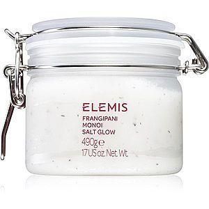 Elemis Body Exotics Frangipani Monoi Salt Glow minerální tělový peeling 490 g obraz