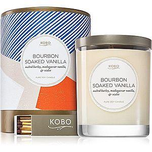 KOBO Natural Math Bourbon Soaked Vanilla vonná svíčka 312 g obraz
