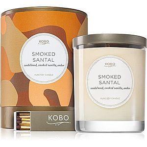 KOBO Camo Smoked Santal vonná svíčka 312 g obraz