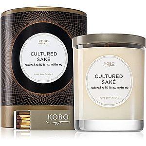 KOBO Filament Cultured Saké vonná svíčka 312 g obraz