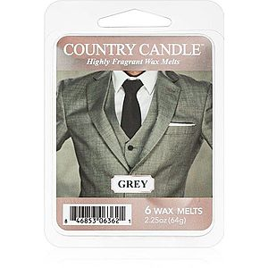 Country Candle Grey vosk do aromalampy 64 g obraz