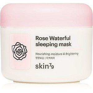 Skin79 Rose Waterfull noční hydratační maska s růžovou vodou 100 ml obraz