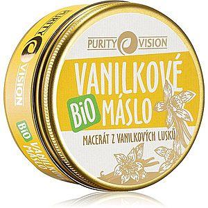 Purity Vision BIO tělové máslo s vanilkou 70 ml obraz
