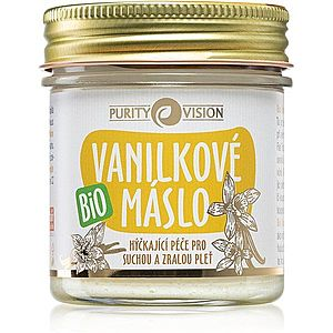Purity Vision BIO tělové máslo s vanilkou 120 ml obraz