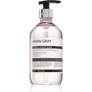 Vivian Gray Modern Pastel Pomegranate & Rose luxusní tekuté mýdlo 500 ml obraz
