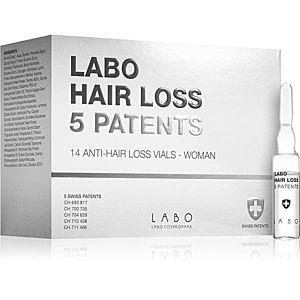 Labo Hair Loss 5 Patents intenzivní kúra proti vypadávání vlasů pro ženy 14x3, 5 ml obraz