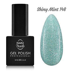 NANI gel lak 6 ml - Shiny Mint obraz