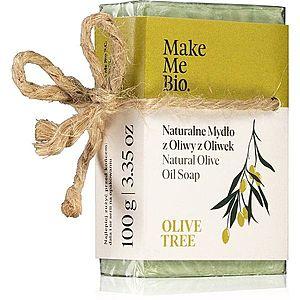 Make Me BIO Olive Tree přírodní mýdlo s olivovým olejem 100 g obraz