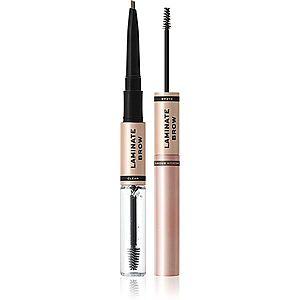 Makeup Revolution Laminate Brow tužka a gel na obočí odstín Medium Brown 2.1 g obraz