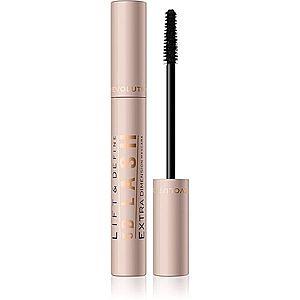 Makeup Revolution 5D Lash řasenka pro dlouhé a plné řasy odstín Jet Black 14 ml obraz