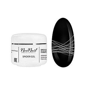 NeoNail Spider Gel gel na nehty odstín White 5 ml obraz