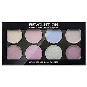 Makeup Revolution Ultra Strobe Balm Palette Cream Highlighter rozjasňovač 12 g obraz