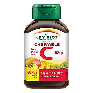 Jamieson Vitamin C 500 mg 120 tablet obraz