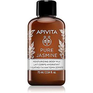 Apivita Pure Jasmine hydratační tělové mléko 75 ml obraz