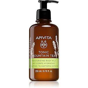 Apivita Tonic Mountain Tea hydratační tělové mléko 200 ml obraz