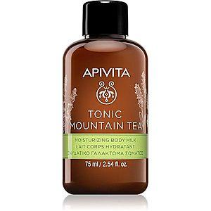 Apivita Tonic Mountain Tea hydratační tělové mléko 75 ml obraz