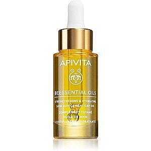 Apivita Beessential Oils rozjasňující denní olej pro intenzivní hydrataci pleti 15 ml obraz