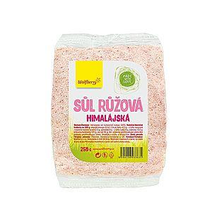 Wolfberry Himalajská sůl růžová 250 g obraz