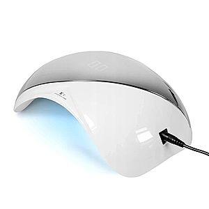 Ráj nehtů UV/LED Lampa K1 48W - stříbrná obraz