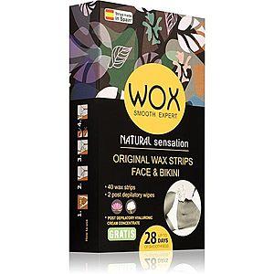 WOX Natural Sensation voskové depilační pásky na obličej 0 obraz