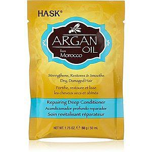 HASK Argan Oil hloubkově regenerační kondicionér pro suché a poškozené vlasy 50 ml obraz