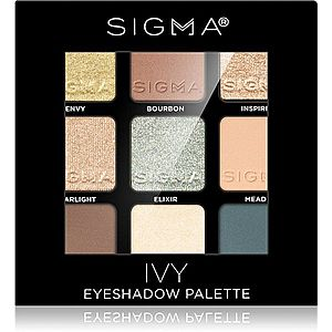 Sigma Beauty Eyeshadow Palette Ivy paleta očních stínů 9 g obraz