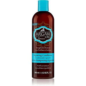 HASK Argan Oil revitalizační kondicionér pro poškozené vlasy 355 ml obraz