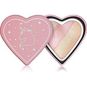 I Heart Revolution Unicorns Heart zapečený rozjasňovač odstín Unicorn Heart 10 g obraz