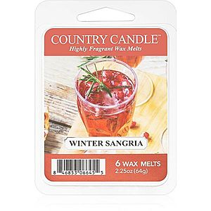 Country Candle Winter Sangria vosk do aromalampy 64 g obraz