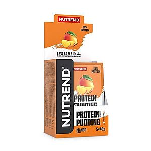 Protein Pudding - Nutrend 5 x 40 g Chocolate + Cocoa obraz
