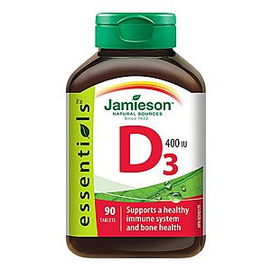 Jamieson Vitamín D3 400 IU 90 tablet obraz
