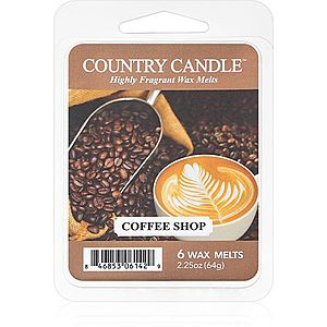 Country Candle Coffee Shop vosk do aromalampy 64 g obraz