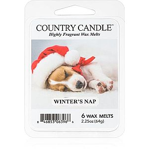 Country Candle Winter's Nap vosk do aromalampy 64 g obraz