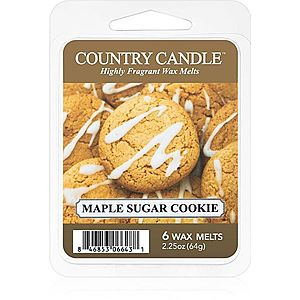 Country Candle Maple Sugar & Cookie vosk do aromalampy 64 g obraz