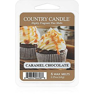 Country Candle Caramel Chocolate vosk do aromalampy 64 g obraz