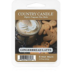 Country Candle Gingerbread Latte vosk do aromalampy 64 g obraz