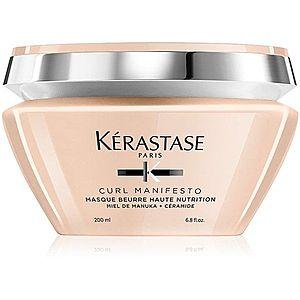 Kérastase Curl Manifesto Masque Beurre Haute Nutrition vyživující maska pro vlnité a kudrnaté vlasy 200 ml obraz