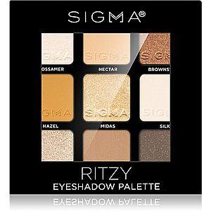 Sigma Beauty Eyeshadow Palette Ritzy paleta očních stínů 9 g obraz