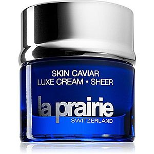 La Prairie Skin Caviar Luxe Cream Sheer zpevňující a vyhlazující krém 50 ml obraz