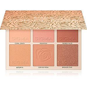 Sigma Beauty Cor-de-Rosa Blush Palette paleta tvářenek 25, 05 g obraz