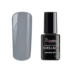 Ráj nehtů UV gel lak Shellac Me 12ml - Diamond Grey obraz