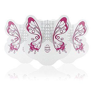 NANI šablony na nehty Butterfly, 100 ks obraz